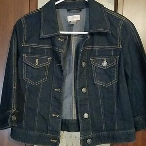 XS Loft Crop Jacket